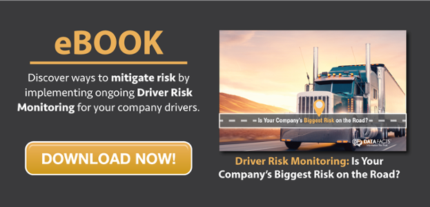 Driver Risk Monitoring